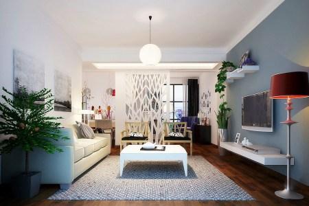 modern living room fully furnished 3d model d3ffbded 4af6 4239 b27e 93941b98b522