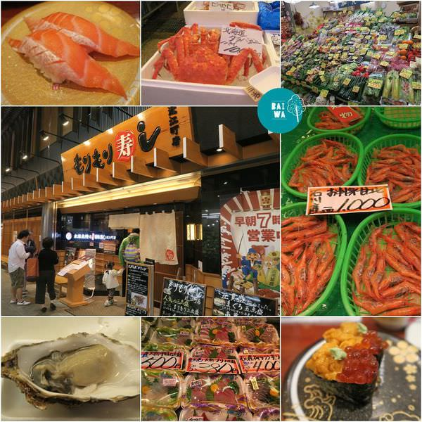 【北陸金澤】近江町市場,もりもり壽司隱藏著每日直送的美味