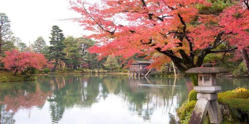 【北陸親子自由行,金澤】兼六園,日本三大名園,初秋、紅葉