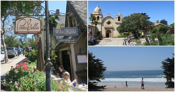 【加州】Carmel-by-the-sea,我在熱情的加州,遇見傍海的歐風小鎮