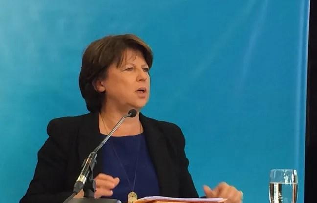 Martine Aubry, le 23 septembre 2015 à Lille