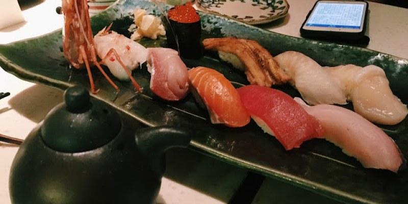 〔台北食記〕品質保證、願意一訪再訪的明水三井日式料理