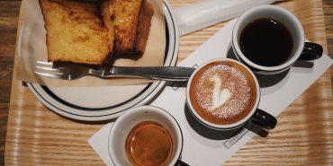 東京美食 可以吃早餐的池袋咖啡廳COFFEE VALLEY,蜂蜜吐司與三杯組咖啡