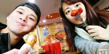 釜山美食 廣安大橋旁的BBQ炸雞비비큐치킨,兩種口味一次滿足