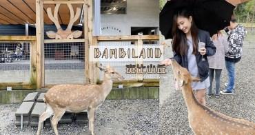 宜蘭景點 | 斑比山丘 台版奈良超療癒 跟梅花鹿零距離接觸