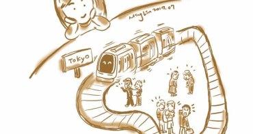 東京觀察筆記:通勤電車的日常
