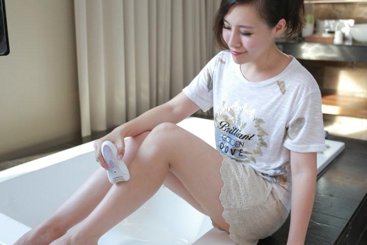 【穿搭】輕鬆擺脫毛手毛腳~♥ 飛利浦刮拔兩用陶瓷絲滑美體刀(HP6583)