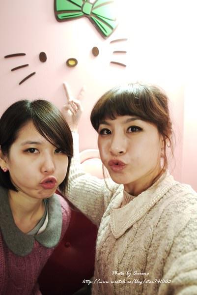 【韓國之旅】充滿甜蜜幸福的HELLO KITTY咖啡廳~
