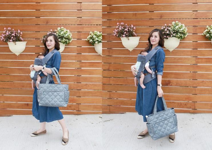 【包包】時尚媽咪怎麼可以少了Zoila輕量托特媽媽包