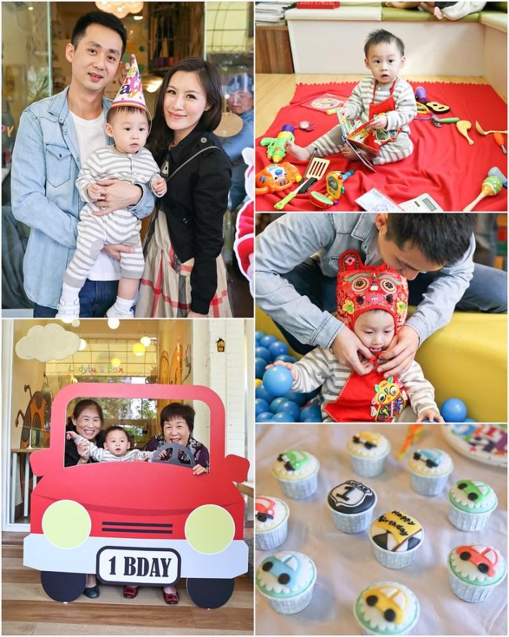 【抓周特輯】如何籌畫小Lu周歲Party~★ 場地、佈置、蛋糕、小禮物、抓周用品