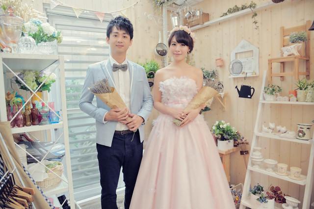 【Wedding】A & W婚紗照來啦  (挑選婚紗公司及拍照的經驗分享)