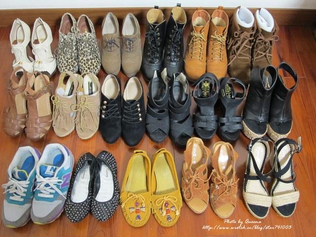 【鞋子】大掃除囉~17雙年度鞋款大賞