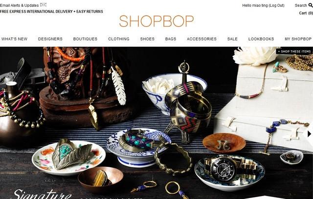 【教學】逛得好過癮~美國購物網站SHOPBOP