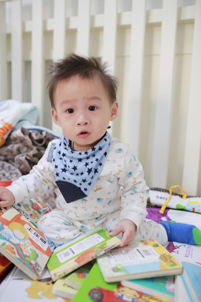 【Baby】就這樣輕鬆養成愛翻書的好習慣★小Lu0-1歲的中、英文書單