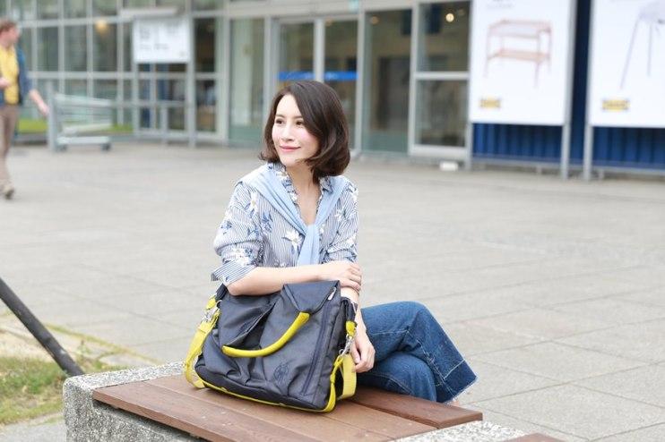 【穿搭】打造簡約時尚的媽咪風格~♥德國LASSIG媽媽包