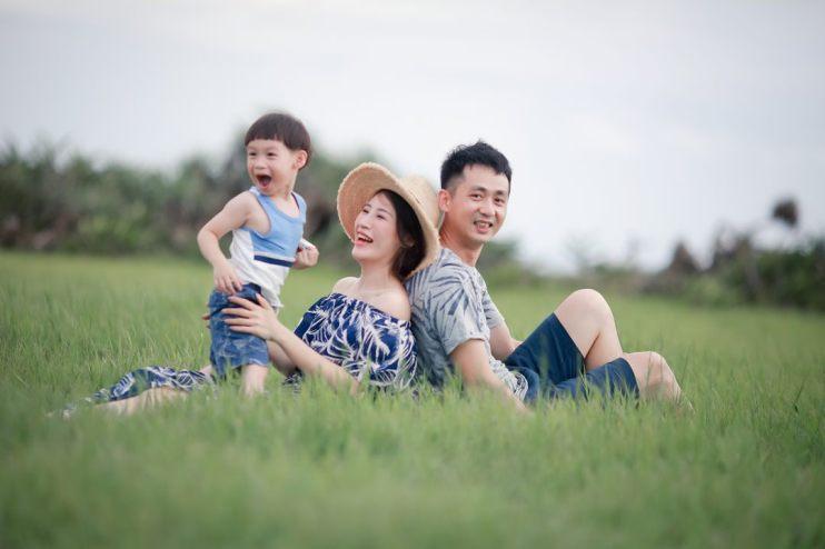【親子】我們的親子寫真來到第三年啦~♥ 3% 迷子創意拍