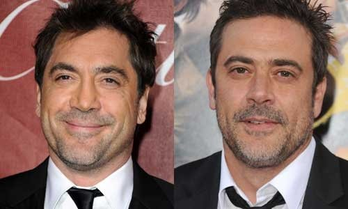 Javier Bardem and Jeffrey Dean Morgan   17 Celebrities Who Look    Javier Bardem and Jeffrey Dean Morgan