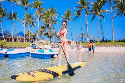 【夏威夷-大島】西岸Hilton Walkoloa Village擁有海龜,潟湖,海豚跟輕軌的大型度假村