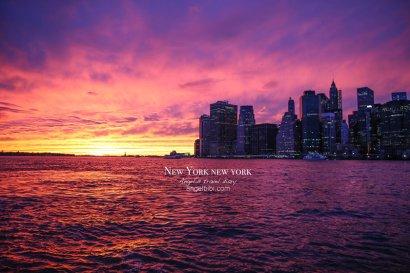 【紐約】Brooklyn~在布魯克林大橋下欣賞曼哈頓夜景,Dumbo街拍,Jane's carousel旋轉木馬