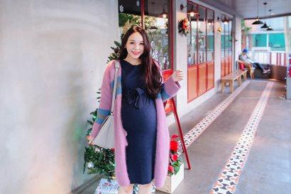 【穿搭】冬/孕媽咪的時尚穿搭週記~3場婚禮穿搭❤37W~38W