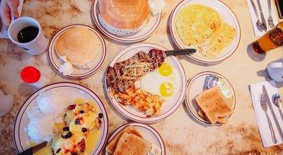 【夏威夷-大島】東岸Hilo的兩家人氣早午餐~Ken's巨無霸鬆餅&Hawaiian Style Cafe
