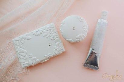 【底妝】碧麗妃恬蜜花漾系列,上粧時間越長越美~散發粉紅光暈的水粉霜、妝前乳及粉餅