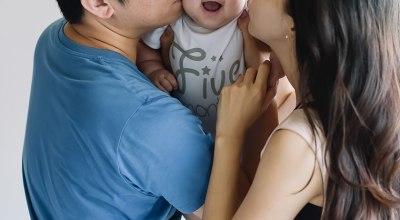 【成長紀錄】我的Riley寶寶滿五個月了❤剪胎毛,副食品,打卡介苗