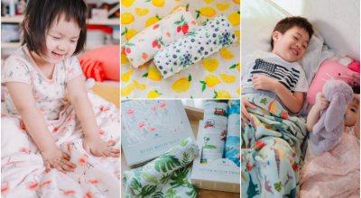 【育兒】最美的紗布巾美國Little Unicorn♥設計師手繪圖案讓人瘋狂著迷