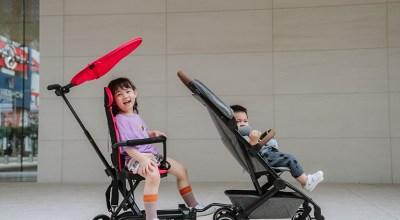全新升級版二胎神器:Jolly輕便手推車!輕鬆遛二個寶貝輕鬆又拉風!(可收折登機喔)