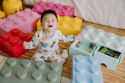 【育兒】丹麥LEGO樂高收納盒X最新澳洲 BunnyTickles沙發 X麵包超人系列童書