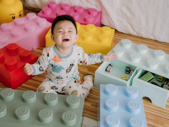 【育兒】丹麥LEGO樂高收納盒X最新澳洲 BunnyTickles沙發 X美國Melissa&Doug超市購物台