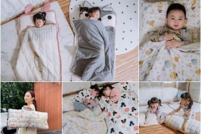 【育兒】真心大推大學必備,耐用又可愛的韓國The Zazak攜帶型幼兒睡袋/獨家收納袋