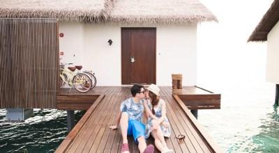 【2015蜜月】馬爾地夫♡在The Residence泳池水上屋2人能做的浪漫事!