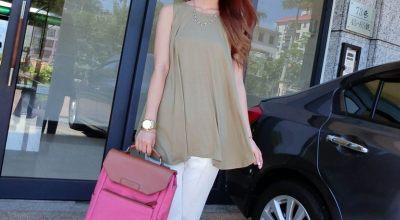 ▌穿搭 ▌韓國同步♥Bubble N Chic 優雅又沁涼的5套夏日風情