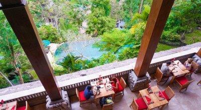 ▌峇里島 ▌巴里島浪漫婚拍♥DAY3環抱山谷Royal Pitamaha的超美下午茶&酥骨雞午餐