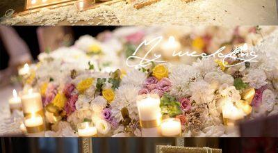 【My wedding】大亨小傳風婚禮,上田花藝與我共同完成夢想中的超奢華佈置♡
