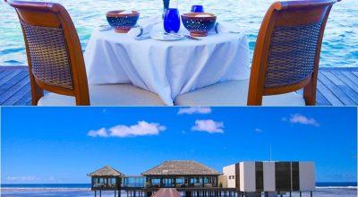 【2015蜜月】食在馬爾地夫♡The Residence自助早晚餐,海邊BBQ,Falhumaa法式晚餐