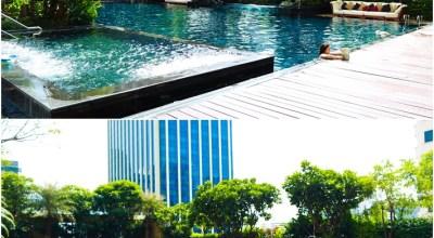 ▌曼谷  ▌出發去度假!擁有超棒泳池跟夢幻白色系房間的Grade Center Point Ratchadamri