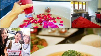 【峇里島】偽單身姐妹小旅行♡舒服的玫瑰精油按摩120分鐘&超美味凱特泰式料理