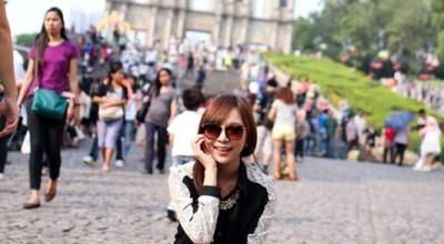 ▌旅遊 ▌澳門Day2♥來去新馬路區!看世界遺產大三巴跟周邊小吃