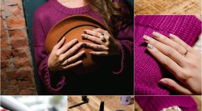 ▌指彩 ▌UNT異材質的華麗冒險♥進階式~珠寶風質感的光療DIY!