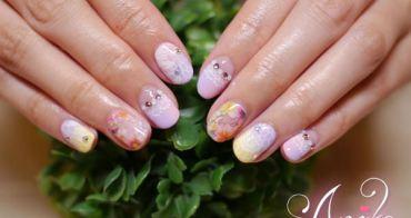 【指彩】春季與花朵蕾絲的小邂逅 ❤潔月兒藝術美甲