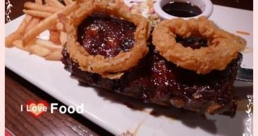 【台北美食】FRIDAY's。炭烤豬肋排好吃!歡聚熱鬧的好所在。