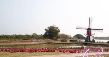 【台南旅遊】德元碑荷蘭村。免出國! 看得到道地荷蘭大風車