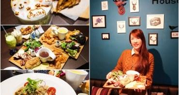 【台中美食】榙比歐卡Tapioca。美術館附近漂亮庭園餐廳!巨大份量早午餐~給你極致高CP值