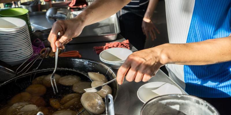 田尾溪畔肉圓|田尾人推薦古早味肉圓,食尚玩家介紹,近田尾公路花園。