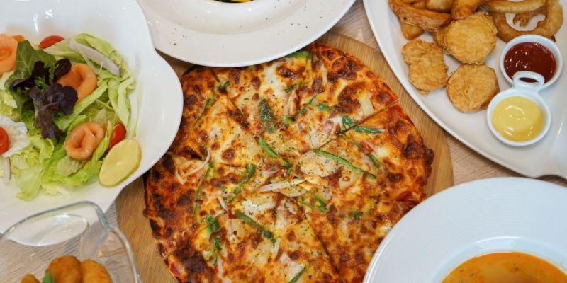 蘿蕬森活廚房|浪漫義大利餐館,員林聚餐約會新去處,高質感義大利麵燉飯、PIZZA。
