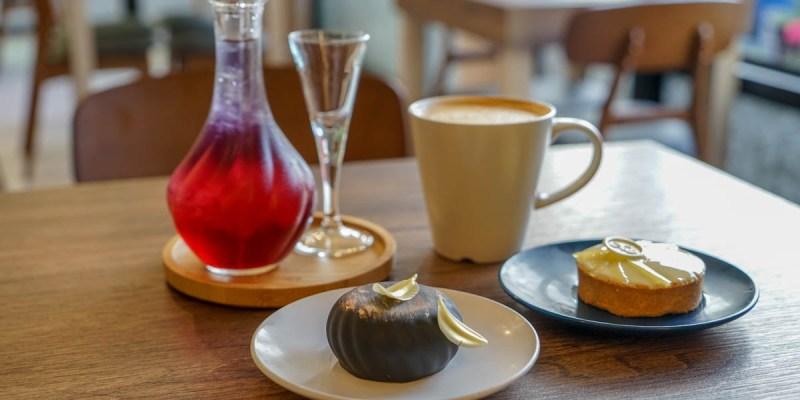 北斗缺甜點夢 | 北斗鄉村甜點咖啡館,自磨發芽糙米粉創作甜點,鄉間小路旁綠意庭園裡吃甜點。