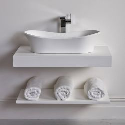 Small Crop Of Wall Mounted Shelves For Bathroom