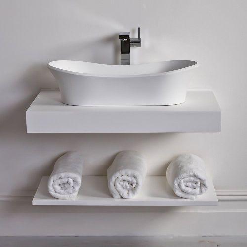 Medium Of Wall Mounted Shelves For Bathroom